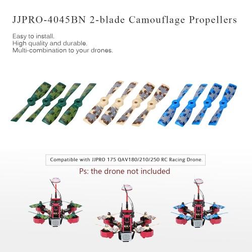12pcs Original JJRC JJPRO-4045BN 2-blade Propellers with Camouflage Pattern for JJPRO-175 FPV Quadcopter Facon180 QAV180 QAV210 RC Racing Drone MulticopterJJRC Multirotors Parts<br>12pcs Original JJRC JJPRO-4045BN 2-blade Propellers with Camouflage Pattern for JJPRO-175 FPV Quadcopter Facon180 QAV180 QAV210 RC Racing Drone Multicopter<br><br>Blade Length: 19.3cm