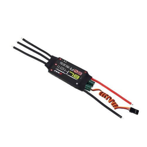 Original Emax 60A ESC Electronic Speed Controller with 5V/5A UBEC BLHELI Program for F600 Quadcopter