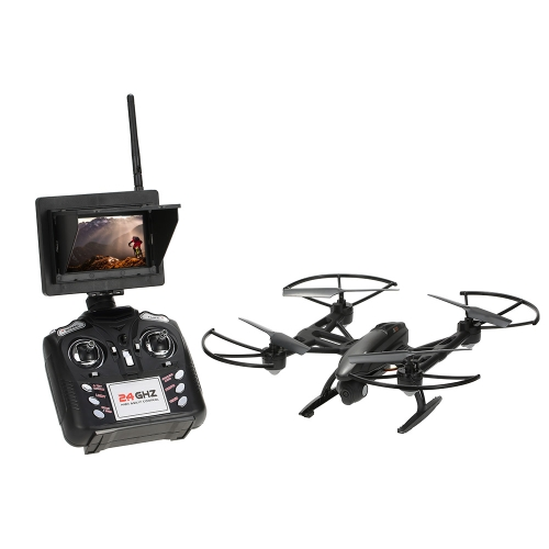 Buy JXD 509G 2.4G 4CH 6-Axis Gyro 5.8G FPV Built-in Height Locking Flight RC Quadcopter 2.0MP HD Camera