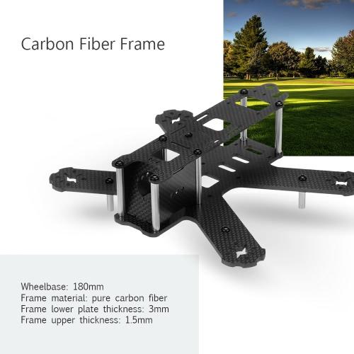 180mm Carbon Fiber Quadcopter Frame Kit for QAV180 RC FPV Racing Drone RM6589