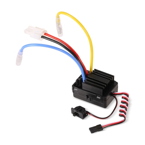 Goolrc 40a waterproof brushed esc electric speed controller with 6v/2a bec for...