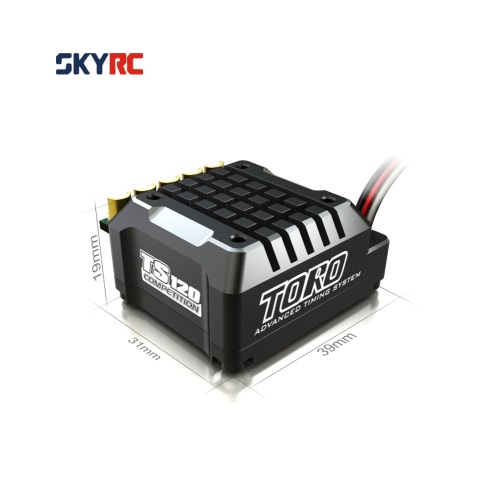 Buy SkyRC TS120 120A 2-3S LiPo Battery Brushless Sensored/Sensorless ESC 6V/3A BEC 1/10 1/12 On-road Off-road Car 1/8 Crawlers Cars