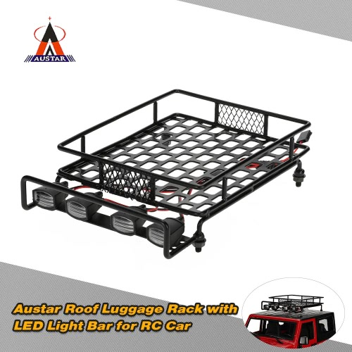 Original Austar AX-514B Roof Luggage Rack with LED Light Bar for 1/10 1/8 CC01 CR01 D90 AXIAL SCX10 RC Cars Rock CrawlerHSP Other Parts<br>Original Austar AX-514B Roof Luggage Rack with LED Light Bar for 1/10 1/8 CC01 CR01 D90 AXIAL SCX10 RC Cars Rock Crawler<br><br>Blade Length: 17.0cm