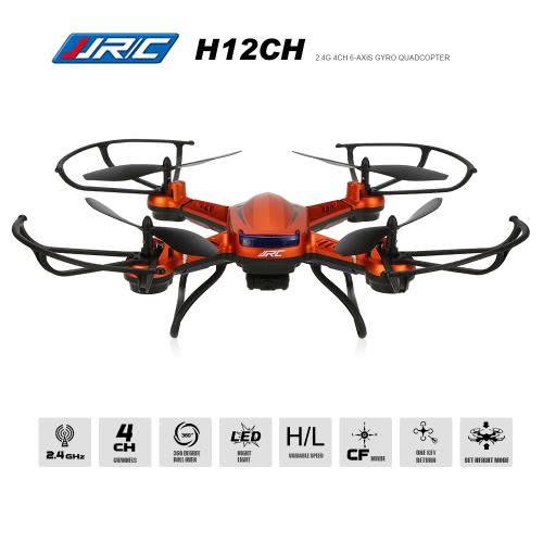 JJRC H12CH  RC Quadcopter - RTFJJRC Multirotor<br>JJRC H12CH  RC Quadcopter - RTF<br><br>Blade Length: 37.8cm