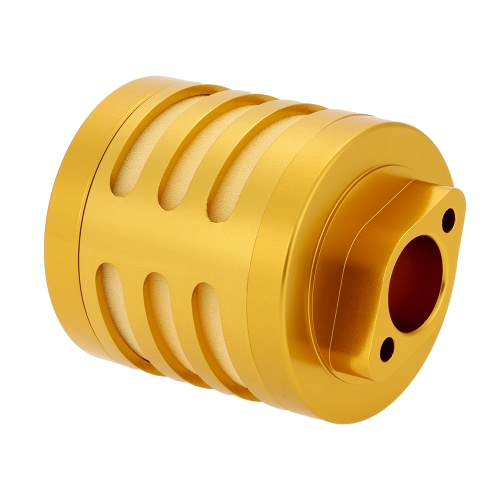Aluminum Alloy Air Filter with Sponge for 1:5 HPI Baja 5b Rovan Nitro Powered RC Car