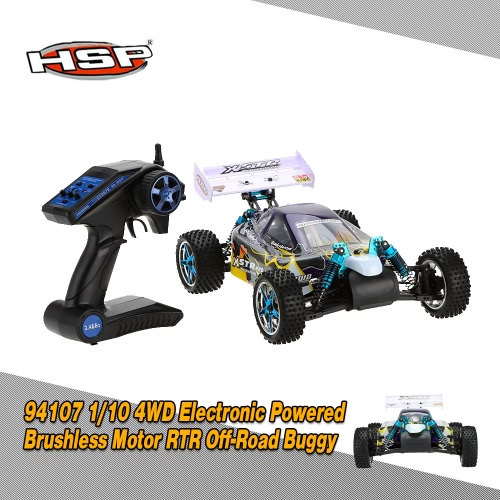 Originally HSP 94107PRO 1/10 4WD Electronic Powered Brushless Motor RTR Off-Road Buggy & 2.4GHz Transmitter RM4522UK