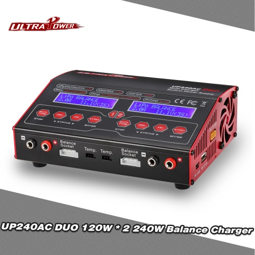 Original Ultra Power UP240AC DUO 240W 2in1 LiPo NIMH NiCd Battery RC Balance Charger DischargerCharger &amp; Adaptor<br>Original Ultra Power UP240AC DUO 240W 2in1 LiPo NIMH NiCd Battery RC Balance Charger Discharger<br><br>Blade Length: 26.0cm