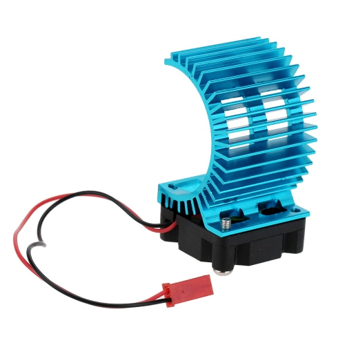 7014 Motor Heat Sink With Cooling Fan for 1/10 HSP RC Car 540/550 3650 Motor1/10TH RC Car Parts<br>7014 Motor Heat Sink With Cooling Fan for 1/10 HSP RC Car 540/550 3650 Motor<br><br>Blade Length: 5.7cm