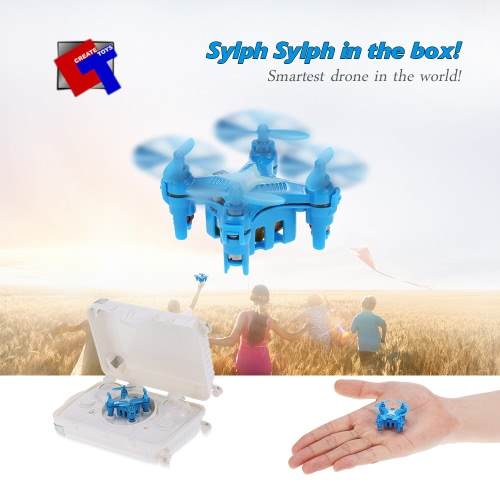 Original Create Toys E904 2.4G 4CH 6 Axis Gyro Headless Mode 3D Flip Drone RC QuadcopterAirplane Toys<br>Original Create Toys E904 2.4G 4CH 6 Axis Gyro Headless Mode 3D Flip Drone RC Quadcopter<br><br>Blade Length: 18.6cm