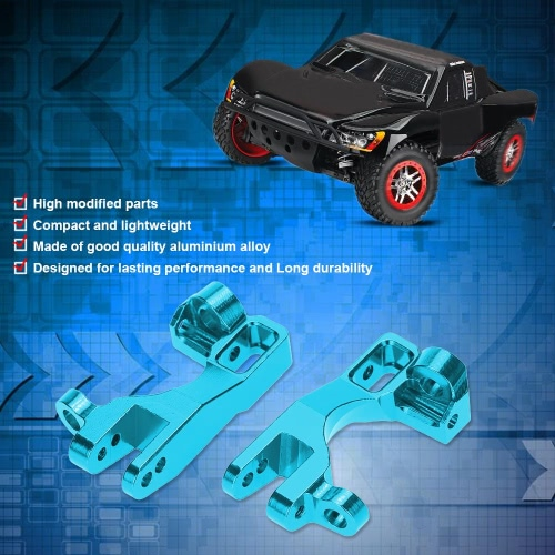 SLA003 Aluminum Alloy Modified Parts Front Hub Carrier(L/R) for 1/10 TRAXXAS SLASH 4x4 RC Car