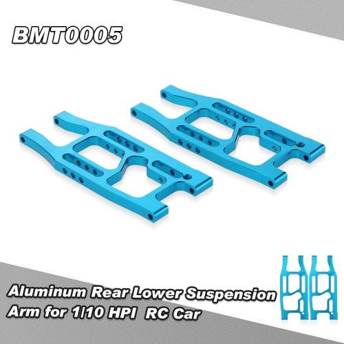 BMT0005 Aluminum Rear Lower Suspension Arm for 1/10 HPI Bullet 3.0 ST MT WR8 RC CarHSP Other Parts<br>BMT0005 Aluminum Rear Lower Suspension Arm for 1/10 HPI Bullet 3.0 ST MT WR8 RC Car<br><br>Blade Length: 10.0cm