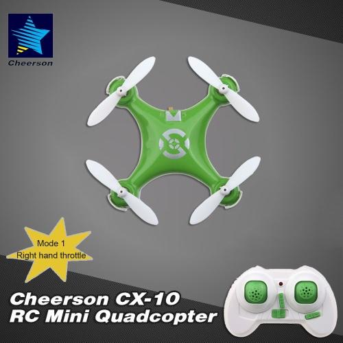 Original Mode 1 Cheerson CX-10 2.4G 6-Axis Gyro RTF Mini DroneCheerson<br>Original Mode 1 Cheerson CX-10 2.4G 6-Axis Gyro RTF Mini Drone<br><br>Blade Length: 15.0cm