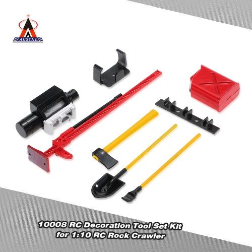 Buy AUSTAR 10008 RC Decoration Tool Set Kit Accessories 1:10 Rock Crawler