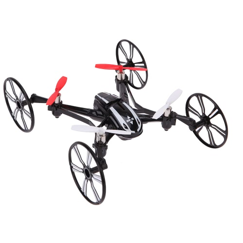 Buy LianSheng LS-116 2.4G 4CH 6-Axis Gyro R/C Quadcopter 4 1 Air-ground Amphibious RTF Drone UFO Speed Switch Mode Ground Flip Headless