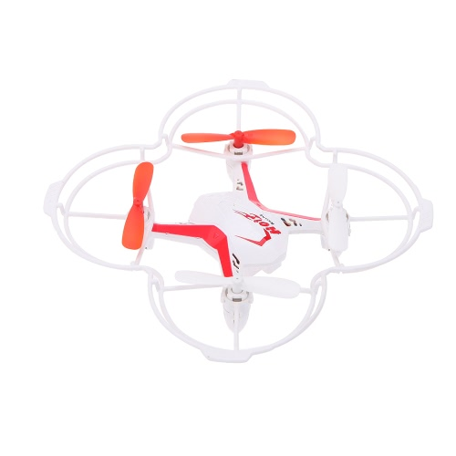 Buy FINECO Fx-21v 2.4G 5CH 6-Axis Gyro R/C Quadcopter RTF Drone English Voice Control Headless Mode Speed 3D Flips