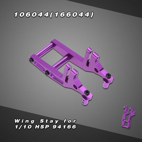 106044(166044) Upgrade Parts Aluminum Alloy Wing Stay for 1/10 HSP 94166 4WD Nitro Power Off Road RM2758PU