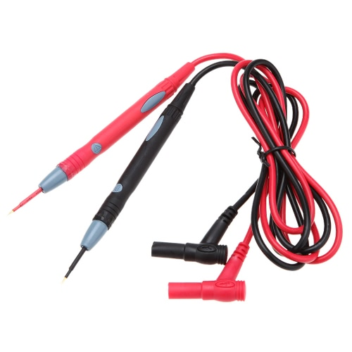 GoolRC Universial B01 Red and Black Colors Meter Test Lead Probe 1m Silicone Test Supportive CableOther General Tools<br>GoolRC Universial B01 Red and Black Colors Meter Test Lead Probe 1m Silicone Test Supportive Cable<br><br>Blade Length: 16.0cm