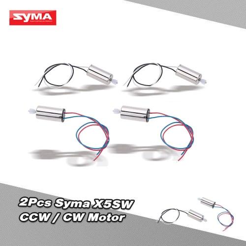2Pairs of Original Syma X5SW RC Part CW/CCW Motors for X5SW/X5SC RC QuadcopterSyma Multicopter Parts<br>2Pairs of Original Syma X5SW RC Part CW/CCW Motors for X5SW/X5SC RC Quadcopter<br><br>Blade Length: 5.5cm