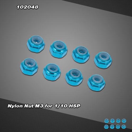 102048(02191) Upgrade Part Aluminum Nylon Nut M3 for 1/10 HSP RC 4WD Model Car1/10TH RC Car Parts<br>102048(02191) Upgrade Part Aluminum Nylon Nut M3 for 1/10 HSP RC 4WD Model Car<br><br>Blade Length: 10.0cm
