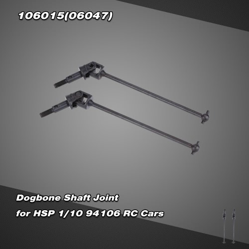 106015(06047) Upgrade Part Stainless Steel Dogbone Shaft Joint for HSP 1/10 94106 Nitro Powered Off-Road Buggy RM3571B