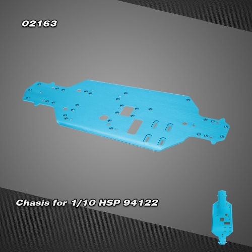 02163 Upgrde Parts Alumimum Alloly Chasis for 1/10 HSP 94122 4WD On-road Touring Racing Car1/10TH RC Car Parts<br>02163 Upgrde Parts Alumimum Alloly Chasis for 1/10 HSP 94122 4WD On-road Touring Racing Car<br><br>Blade Length: 33.0cm
