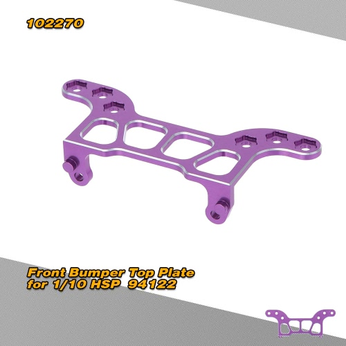 102270(122270) Upgrade Part Aluminum Front Bumper Top Plate for RC HSP 1/10 Nitro Power Advanced On-road Drift Car 94122 HIMOTO Redcat1/10TH RC Car Parts<br>102270(122270) Upgrade Part Aluminum Front Bumper Top Plate for RC HSP 1/10 Nitro Power Advanced On-road Drift Car 94122 HIMOTO Redcat<br><br>Blade Length: 10.0cm