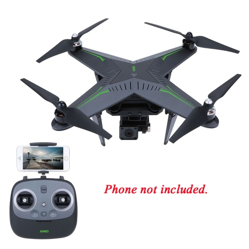 XIRO Zero Explorer Xplorer FPV RC Quadcopter GPS Auto-pilot/Auto-return Home/One Key Take-off and Landing with Gimbal and 14MP Camera