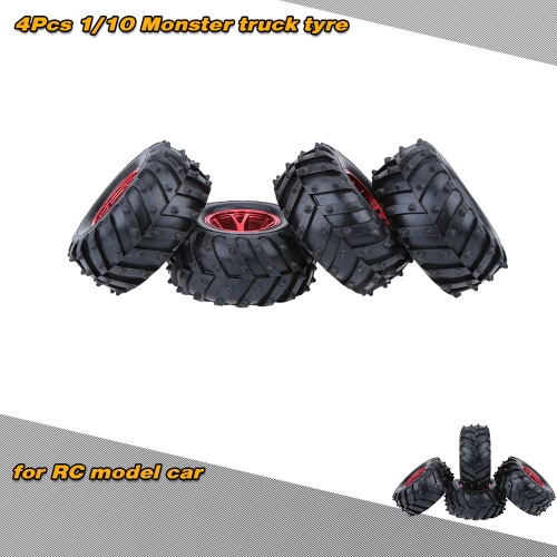 4Pcs/Set 1/10 Monster Tire Truck Tyres for Traxxas HSP Tamiya HPI Kyosho RC Model CarCar Tires<br>4Pcs/Set 1/10 Monster Tire Truck Tyres for Traxxas HSP Tamiya HPI Kyosho RC Model Car<br><br>Blade Length: 24.0cm