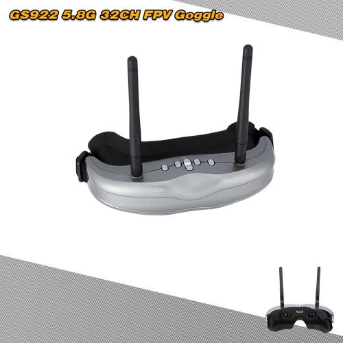 Original BOSCAM GS922 5.8G 32CH FPV Dual Diversity Binocular Video Goggle RM3690