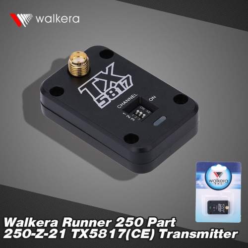 Original Walkera Runner 250 FPV Quadcopter Parts TX5817(CE) Transmitter Runner 250-Z-21 от Tomtop.com INT