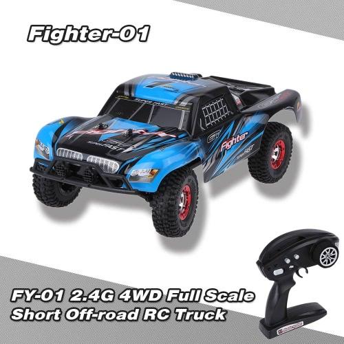 Buy Original FEIYUE FY-01 FIGHTER-1 1:12 4WD 2.4G Full Scale Short Off-road RC Truck
