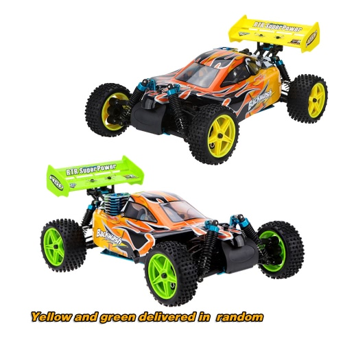 Original HSP 1/10 94166 Off-road Buggy Backwach Nitro Gas Powered 4WD RTR Remote Control Car RM3801