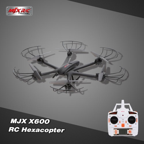 MJX X600 2.4G 6 Axis Gyro Headless 3D Roll One Key Return RC Hexacopter RTFAirplane Toys<br>MJX X600 2.4G 6 Axis Gyro Headless 3D Roll One Key Return RC Hexacopter RTF<br><br>Blade Length: 42.7cm