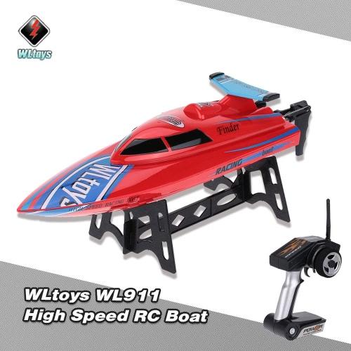 Original WLtoys WL911 2.4G Remote Control High Speed 24km/h RC BoatBoat Toys<br>Original WLtoys WL911 2.4G Remote Control High Speed 24km/h RC Boat<br><br>Blade Length: 37.5cm