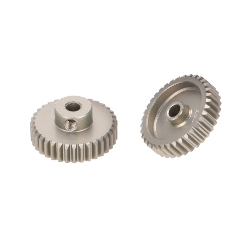 GoolRC 2Pcs 48DP 3.175mm 35T Pinion Motor Gear for 1/10 RC Car Brushed Brushless MotorOther Car Parts<br>GoolRC 2Pcs 48DP 3.175mm 35T Pinion Motor Gear for 1/10 RC Car Brushed Brushless Motor<br><br>Blade Length: 10.0cm
