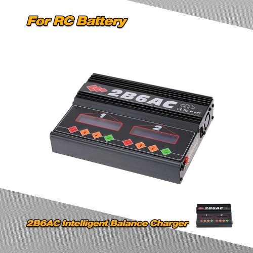 2B6AC 2 * 50W Dual Power Multifunction AC DC Balance Charger Discharger for RC LiPo LiLo LiFe MiMh NiCd PB BatteryCharger &amp; Adaptor<br>2B6AC 2 * 50W Dual Power Multifunction AC DC Balance Charger Discharger for RC LiPo LiLo LiFe MiMh NiCd PB Battery<br><br>Blade Length: 26.0cm