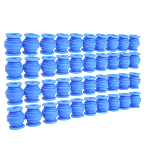 40Pcs 200g FPV Vibration Damping Balls for Gimbals Gopro DJI Quadcopter Aerial Photograpy Blue(Vibration Damping Balls,FPV Vibration Damping Balls,Gimbal Damping Balls) RM486BL