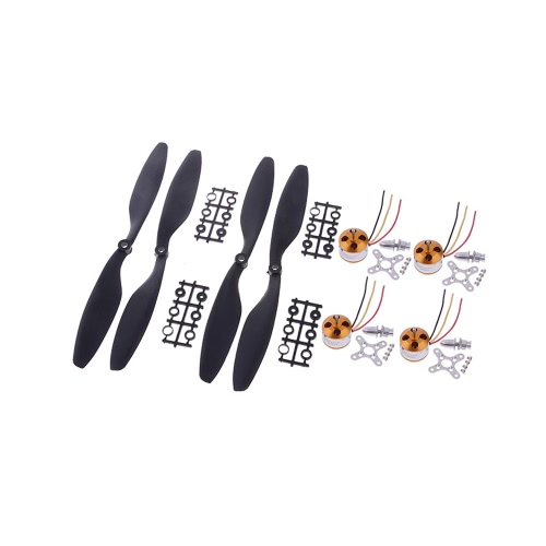 A2212/13T 1000KV Brushless Motor w/2 pairs 1045 10*4.5 Propellers for DJI F450 F550 MWC Multicopter(2212 1000KV Brushless Motor,1045 10*4.5 Propellers,DJI F450 F550 Part)Multicopter Propellers<br>A2212/13T 1000KV Brushless Motor w/2 pairs 1045 10*4.5 Propellers for DJI F450 F550 MWC Multicopter(2212 1000KV Brushless Motor,1045 10*4.5 Propellers,DJI F450 F550 Part)<br><br>Blade Length: 27.0cm