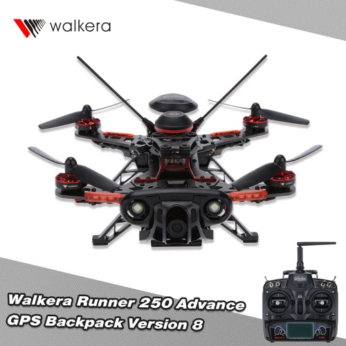 Original Walkera Runner 250 Advance GPS Backpack Version 8 FPV Drone with DEVO 7 and 1080P Camera/OSD/GPS RC QuadcopterWalkera Multicopter<br>Original Walkera Runner 250 Advance GPS Backpack Version 8 FPV Drone with DEVO 7 and 1080P Camera/OSD/GPS RC Quadcopter<br><br>Blade Length: 50.0cm