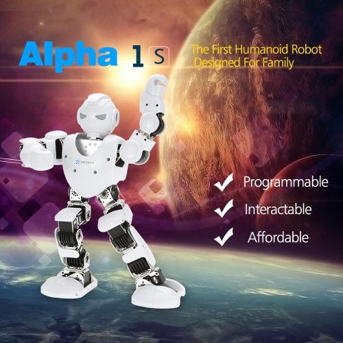 Buy Original UBTECH Alpha 1S 16DOF Intelligent Programmable Humaniod Robot 3D Visual PC Software Bluetooth Control Function
