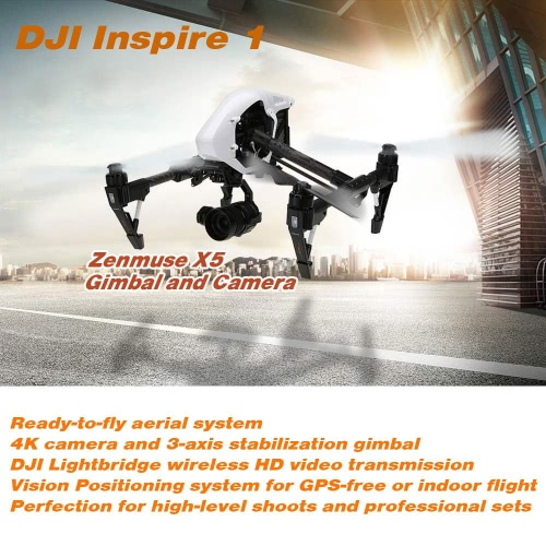 DJI Inspire 1 Pro FPV RC Quadcopter