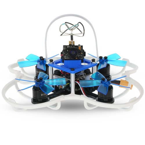 GoolRC G85 85mm 5.8G 40CH 600TVL Micro FPV Racing Drone 1106 Brushless Motor RC Quadcopter with Frsky Receiver F3 Flight Controller - BNFMulticopter Electronic Parts<br>GoolRC G85 85mm 5.8G 40CH 600TVL Micro FPV Racing Drone 1106 Brushless Motor RC Quadcopter with Frsky Receiver F3 Flight Controller - BNF<br><br>Blade Length: 26.0cm