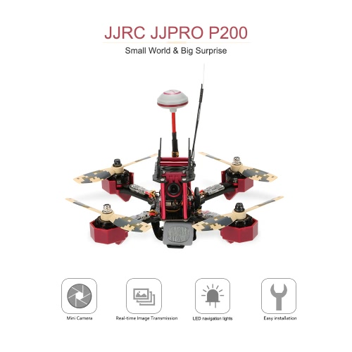 Original JJRC JJPRO P200 FPV Racing Drone Skyline32 5.8G 600mW 48CH Raceband 800TVL HD Camera 2.4G 6 Channel RC Quadcopter Multicopter RTFJJRC Multirotor<br>Original JJRC JJPRO P200 FPV Racing Drone Skyline32 5.8G 600mW 48CH Raceband 800TVL HD Camera 2.4G 6 Channel RC Quadcopter Multicopter RTF<br><br>Blade Length: 30.5cm