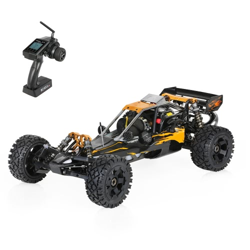 Original Rovan Baja320-02 32cc 2-Stroke Single-cylinder 1/5 2.4GHz 4CH Gasoline Powered Desert Buggy RTR RC Car with LCD Screen Transmitter