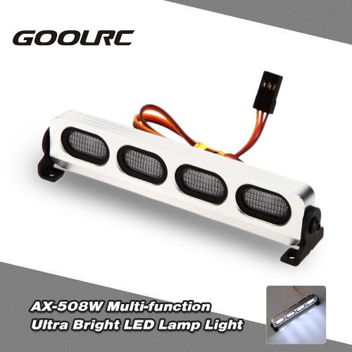 Goolrc ax-508bl ultra bright led lamp light for 1/8 1/10 hsp traxxas...