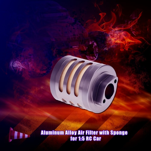 Aluminum Alloy Air Filter with Sponge for 1:5 HPI Baja 5b Rovan Nitro Powered RC CarHSP Other Parts<br>Aluminum Alloy Air Filter with Sponge for 1:5 HPI Baja 5b Rovan Nitro Powered RC Car<br><br>Blade Length: 7.5cm