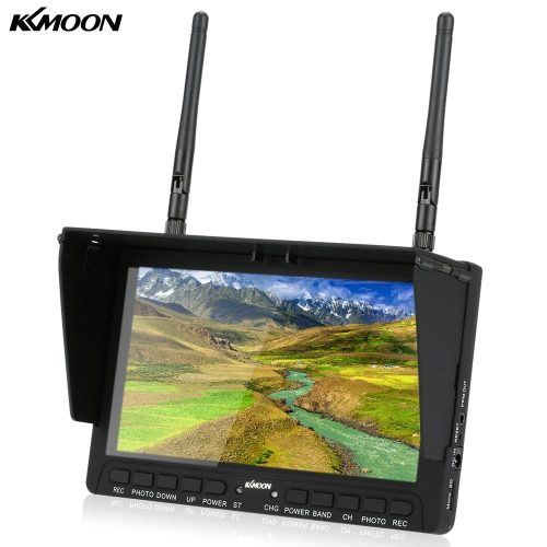 KKmoon  5.8GHz 40CH 7 LCD FPV Receiver Monitor Support HD Input Diversity Rx DVR PPM Function Support TF Card with Folding Sunshade Sky-708Wireless Camera &amp; Receiver<br>KKmoon  5.8GHz 40CH 7 LCD FPV Receiver Monitor Support HD Input Diversity Rx DVR PPM Function Support TF Card with Folding Sunshade Sky-708<br><br>Blade Length: 22.0cm