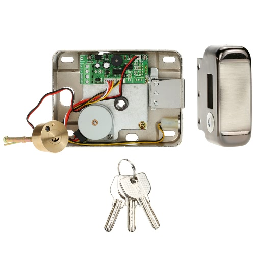 Electric Control Access Mute Lock Electric Door Lock For Doorbell Intercom Access Control Security System