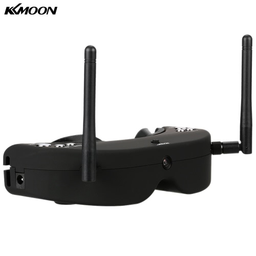 KKMOON  2D FPV Video Goggles 5.8G 40CH Frequency Head Tracing Glasses SKY01S