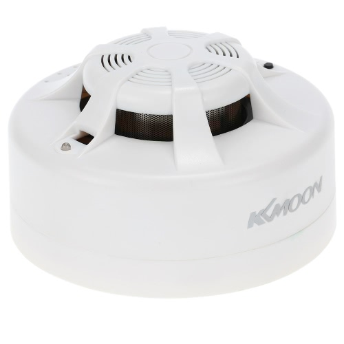 KKMOON  High Sensitive Wireless Photoelectric Smoke Fire Detector Sensor Alarm Security System